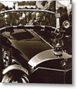 Tom Barrett And Family High Bidder Earl Clark At $153,000 Of Adolf Hitlers Mercedes Benz 770k Metal Print