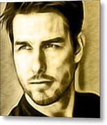 Tom Cruise Collection Metal Print