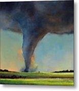 Tornado On The Move Metal Print