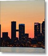 Toronto Sunset Metal Print