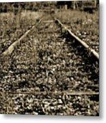 Tracks  To Where Metal Print