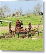 Tractor 005 Metal Print