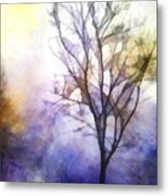 Tree On Vine Metal Print