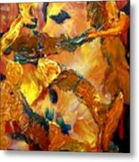 Tree Toil Metal Print