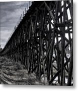 Tressel From The East Metal Print