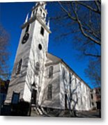 Trinity Church Newport Rhode Island Metal Print