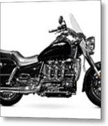 Triumph Rocket IIi Motorcycle Metal Print