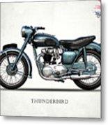 Triumph Thunderbird 1955 Metal Print