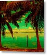 Tropic Nite Metal Print