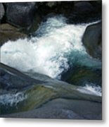 Tropical Flowing Waters Josephine Falls  Metal Print