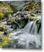 Tryfan In The Ogwen Valley Metal Print