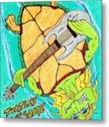 Turtley Awesome Metal Print