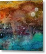 Twilight In The Cosmos Metal Print