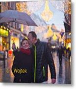Ula And Wojtek Engagement 12 Metal Print