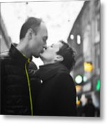 Ula And Wojtek Engagement 8 Metal Print
