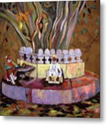 Under The Banyan Tree Metal Print