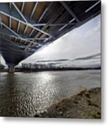 Under The Bridge  Metal Print