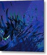 Underwater Metal Print