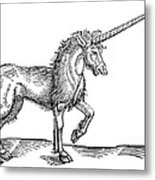 Unicorn, 1607 Metal Print