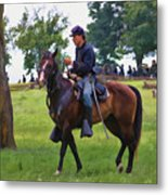 Union Cavalryman Metal Print