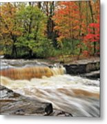 Unnamed Falls Metal Print