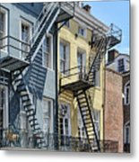 Up The Stairs Metal Print