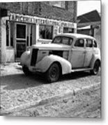 Upholstery Shop Dental Clinic 1930's Auto Us Mexico Border Naco Sonora Mexico 1980 Metal Print