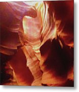 Upper Antelope Canyon Metal Print