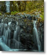 Upper Boulder Creek Falls Metal Print