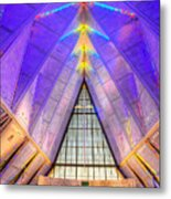 Us Air Force Academy Chapel Metal Print