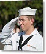 Us Naval Sea Cadet Corps - Gulf Eagle Division, Cape Coral, Florida Metal Print