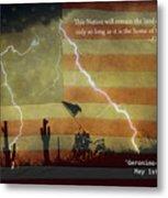 Usa Patriotic Operation Geronimo-e Kia Metal Print