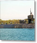 Uss Ohio Metal Print