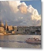 Valetta Skyline, Malta. Metal Print