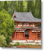 Valley Of The Temples Metal Print