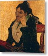 Van Gogh: Larlesienne, 1888 Metal Print