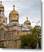 Varna Cathedral,bulgaria Metal Print