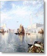 Venetian Grand Canal Metal Print