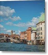 Venice Panorama Metal Print