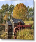 Vermont Grist Mill Metal Print