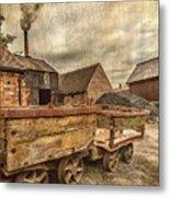Victorian Colliery Metal Print