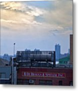 View From The High Line Metal Print