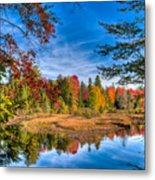 View From The Lock And Dam Trail Metal Print