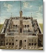 View Of A Castle Metal Print
