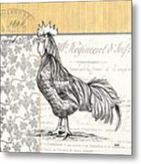 Vintage Farm 1 Metal Print