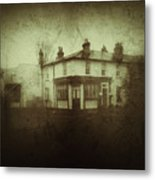 Vintage Public House Metal Print by Fine Art By Andrew David
