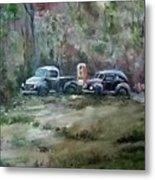 Vintage Vehicles Metal Print