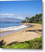 Wailea Ulua Beach Metal Print