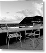 Waiting Metal Print