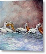 Waiting Out The Storm Metal Print